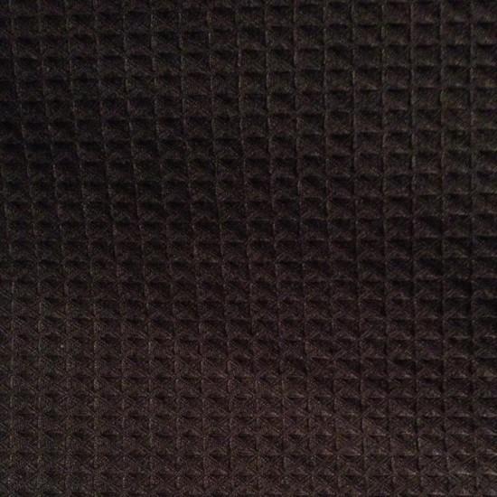Black Waffle weave Bathrobe