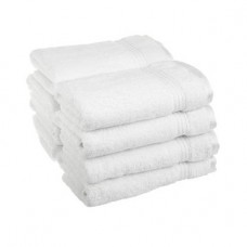 A Classic PLAIN Hotel White Terry Towel 500 GSM