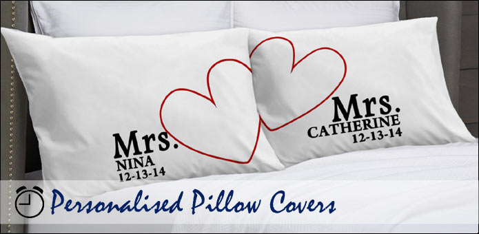 Personalised Pillowcases Customised Pillow Covers Magnificent Personalised Pillow Covers