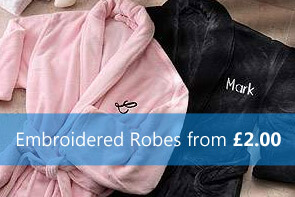 Embroidered Robes
