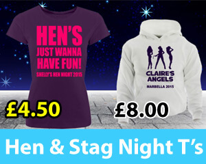 Hen & Stag Night T's